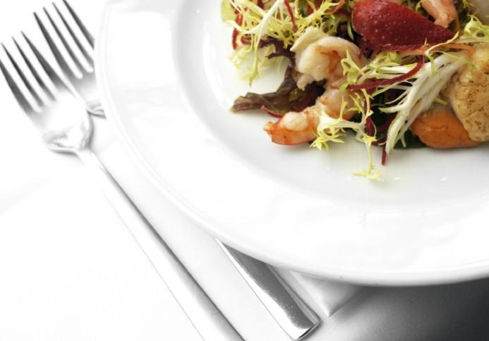 assiettes salade