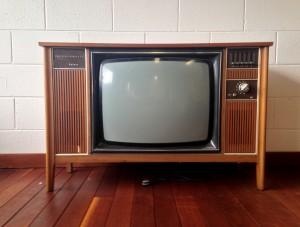 ancienne télévision