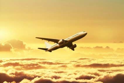 avion- vol pour New-York
