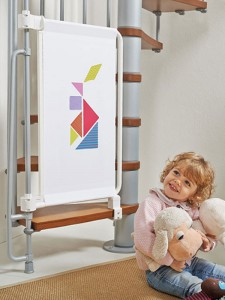 portail de sécurité enfant escalier
