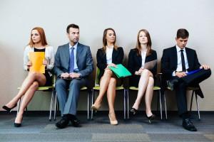 attente passage entretien d'embauche