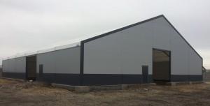grand bâtiment industrielle