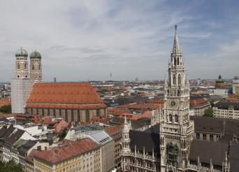 paysage ville de Munich