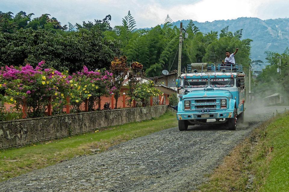 mode de transport colombie