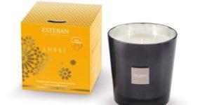Bougies parfumées Esteban